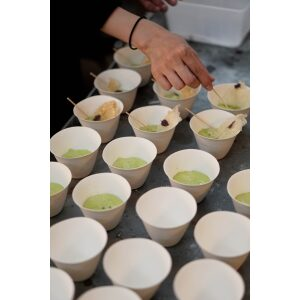 Choko Bowls arranged on a table