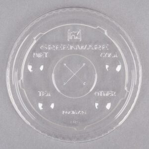 PLA Lid with Straw Hole
