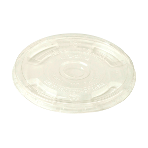 PLA Lid with Straw Hole fits 9oz, 16oz, and 24 oz cups.