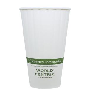 16oz Medium Compostable Hot Cup