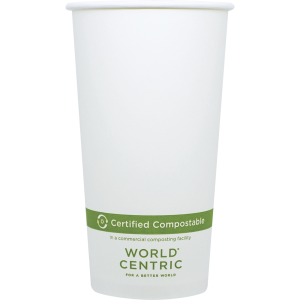 20oz Large Compostable Hot Cup