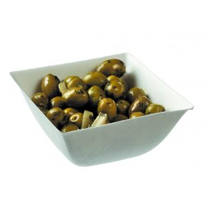 16.9 Oz Small Bowl filled with olives