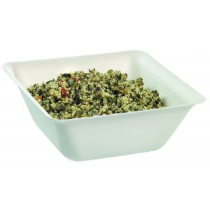 Small Salad Bowl with rice