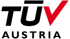 TÜV Austria Holding AG Certification Badge