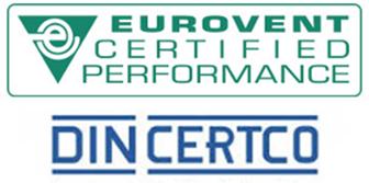 Eurovent DIN CERTCO Certification Badge